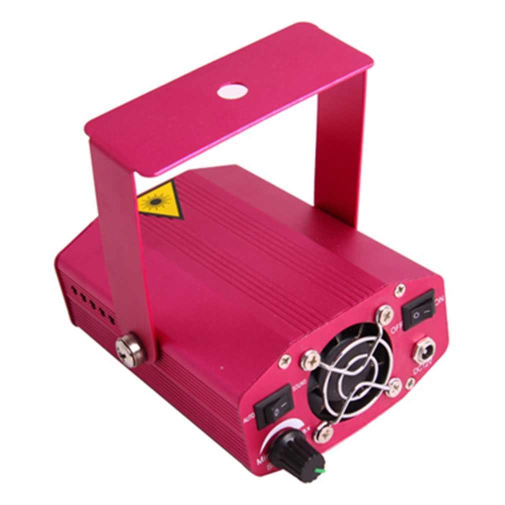 Красный цвет мини лазерный сценический диско вечерние DJ свет портативный свет прочный красный свет бар полоса KTV домашние Вечерние