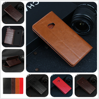 Deluxe Wallet Case For Xiaomi Mi Note 2 Genuine Cow Leather Case Flip Cover For Xiaomi