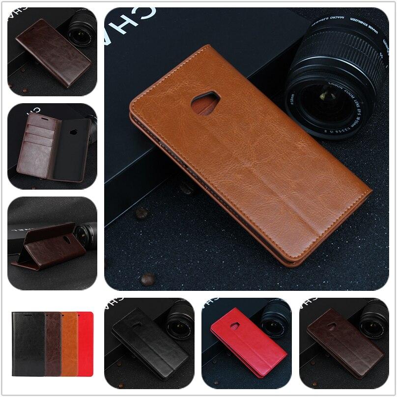 imágenes para De lujo Caja de la Carpeta Para Xiaomi mi Nota 2 premium funda de piel Cubierta Del Tirón para Xiaomi mi Nota $ Number Teléfono Bolsas