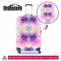 Dispalang reticolo del diamante bagaglio copertura stagione delle piogge impermeabile elastico bagagli calotta di protezione 18-30 pollice valigia parapolvere