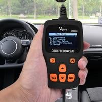 5PCS LOT VGATE VS890 OBD2 Scanner Code Reader Universal Multi Language And Car Diagnostic Tool