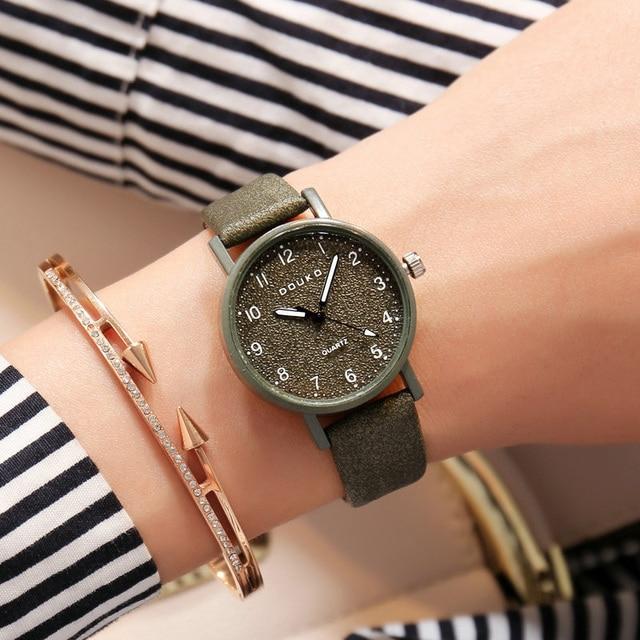 New 2018 Wrist Watch Women Watches Ladies Fashion Quartz Wristwatches For Woman