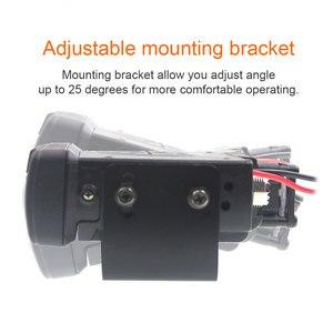 Image 3 - BAOJIE Walkie Talkie BJ 318 25W Dual Band 136 174&400 490MHz Car FM Radio BJ318 (upgrade version of BJ 218)