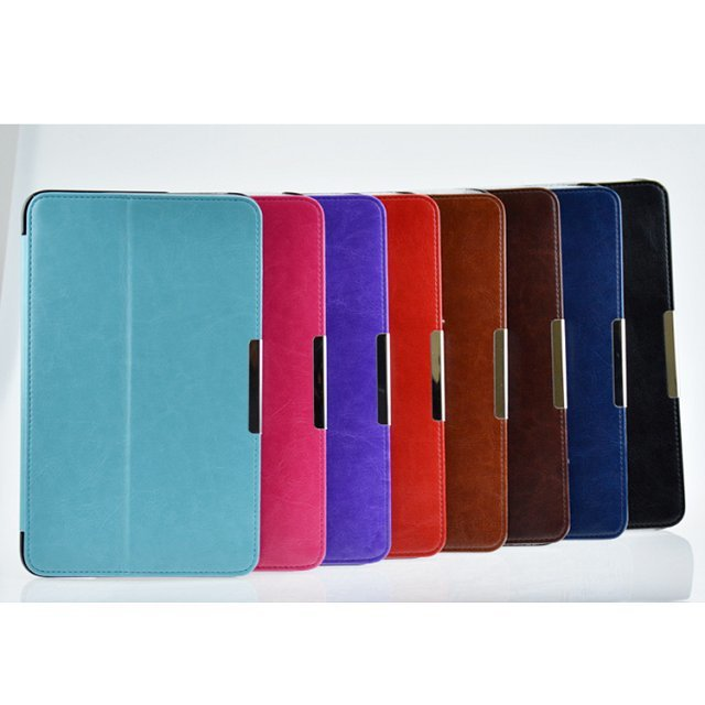 ME175 Flip PU Leather Case For ASUS MeMO Pad HD7 ME175 ME175KG Smart Cover Case+screen protectors