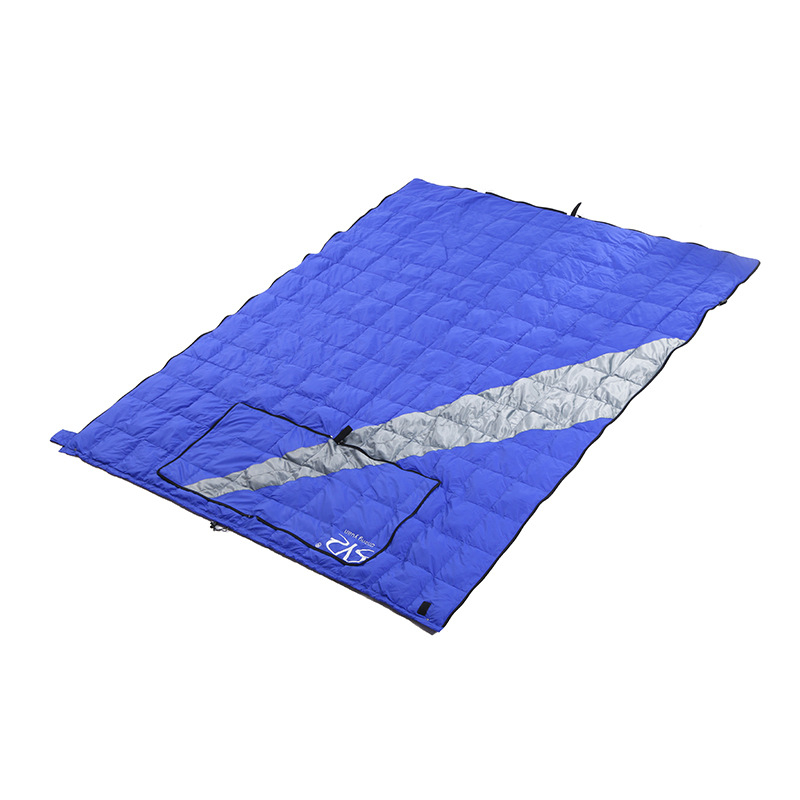 Image 2 - VILEAD 2 Colors Duck down Sleeping Bag as Pillow Lightweight Camping Stuff Hiking Sleeping Winter Ultralight Adult Camp Quilt-in Sleeping Bags from Sports & Entertainment