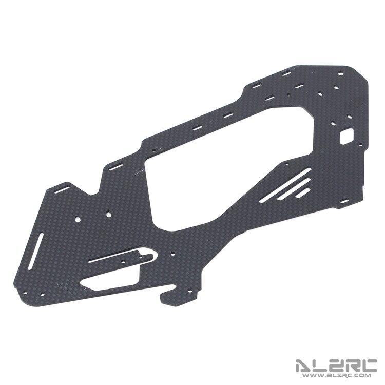 ALZRC - Devil 380 FAST Carbon Fiber Body Side Plate /1.2mm D380F21-12 alzrc devil 380 fast carbon fiber body side plate 1 2mm d380f21 12