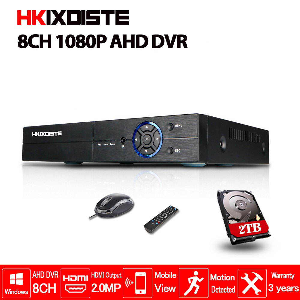 New Metal 1080P AHD DVR Support AHD-H 1080P camera 1920x1080 Resulution AHD-N H DVR 8CH 1080P 4CH 5MP 4/8 Channel AHD DVR/NVR ahd