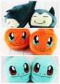 3Style Snorlax Charmander Bulbasaur pokeball Plush Slippers Shoes Warm Winter Adult Slipper Great Gift