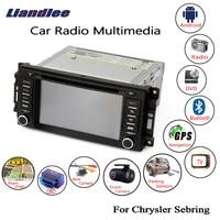 Liandlee для Chrysler Sebring 2007 ~ 2010 android автомобилей радио dvd плеер gps навигатор Карты OBD камера ТВ Экран мультимедиа