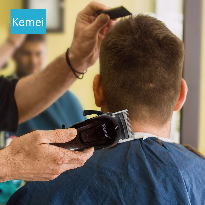 Kemei Hair Clipper Professional Electric Trimmer Hair Cutting Machine Hair Care & Styling Tools Trimer Razor Shaver Machine  5