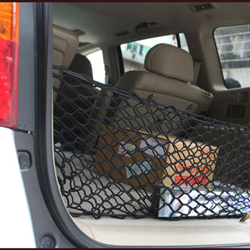 HOT New Car Nylon Elastic Mesh Net Car Hatchback Bakre Bagage Bagage - Bil interiör tillbehör - Foto 4