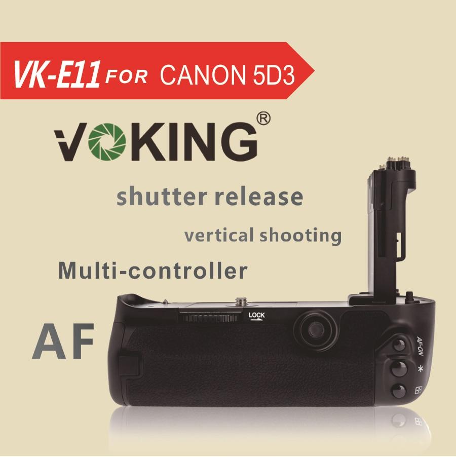Vik VK E11 Baterie Grip pro Canon EOS 5d3 5D Mark III