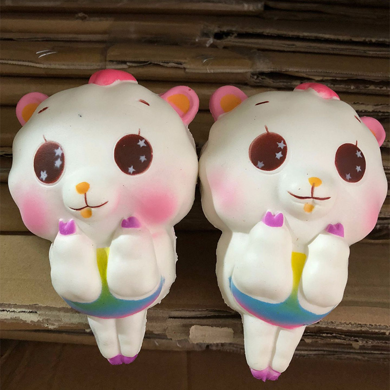 Jumbo Squishy Kawaii Beauty Big Sheep Soft Slow Rising Stretchy Squeeze Kid Toys Relieve Stress Bauble Childrens Day Gifts