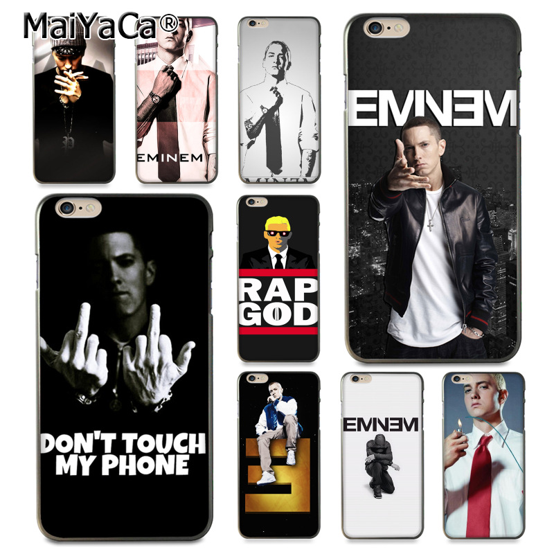 MaiYaCa Eminem Rap God Protective Soft Tpu Mobile Phone ...