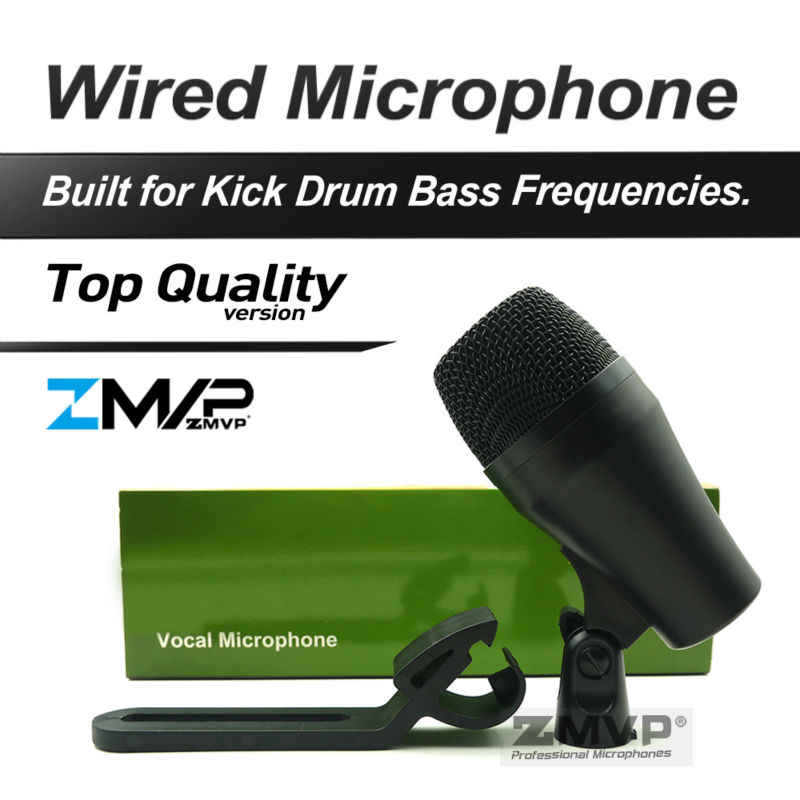 FreeShipping GA52 Professional Percussion Kick Drum Bass Instrument Dynamic Microphone Mic For Stage Show Studio New