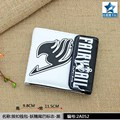 The Logo of  Fairy Tail Association Multilayer Colorful PU Short Wallet with Button