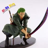 Free Shipping Anime Action Figure One Piece Roronoa Zoro Decisive Battle Version Iv Pvc Model Toy 16cm