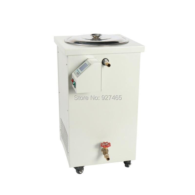 Baño de agua eléctrico del dispositivo del laboratorio 20L, equipo termostático del laboratorio con la exhibición de digita - 4