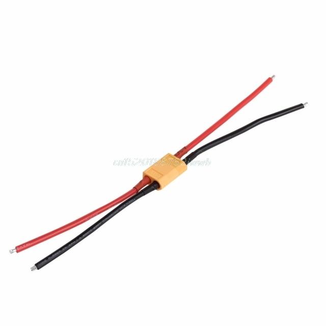 1 paire de XT60 batterie mâle femelle connecteur prise avec silicium 14 AWG fil # T026 # 3