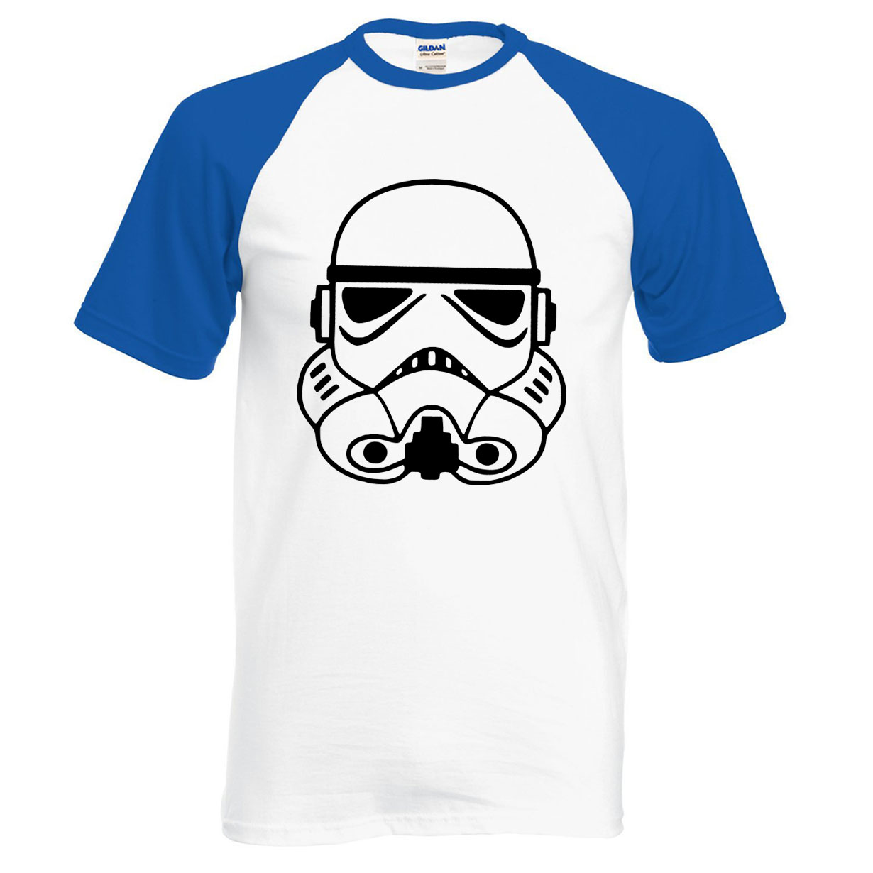 Hot Sale Star Wars raglan men t shirt 2019 new summer 100% cotton Vader men t shirts fashion casual simple style loose top tees