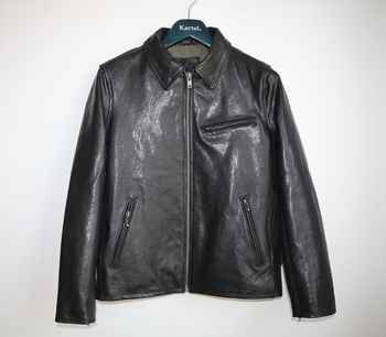 Free shipping,Brand men's 100% genuine leather Jackets,classic sheepskin jacket,biker style jacket.vegetable tanning - DISCOUNT ITEM  5% OFF All Category