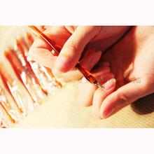 10 sztuk profesjonalne kopytko do skórek ze stali nierdzewnej trymer do skórek Remover Manicure narzędzia do pedicure tanie tanio stainless steel Pusher skórek normal