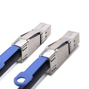 Image 5 - Mini sas SATA kablosu Yüksek Yoğunluklu SFF 8644 çift 8644 HD sunucu harici sabit disk veri kablosu