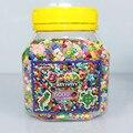 Fusible artkal 1 botella de 3mm perlas de colores mezclados (5000 unids perlas) kits educativos DIY muy divertido PM01 granos artkal