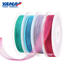 YAMA Organza Fringe Ribbon 16mm 25mm 38mm 200Yards Per Roll for Packing Garments Accessories Hair Ornaments DIY