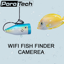 WF01WSL- 30M Cable Underwater Fish Finder In English Fishing Video Digicam Monitor with WIFI pnone APP