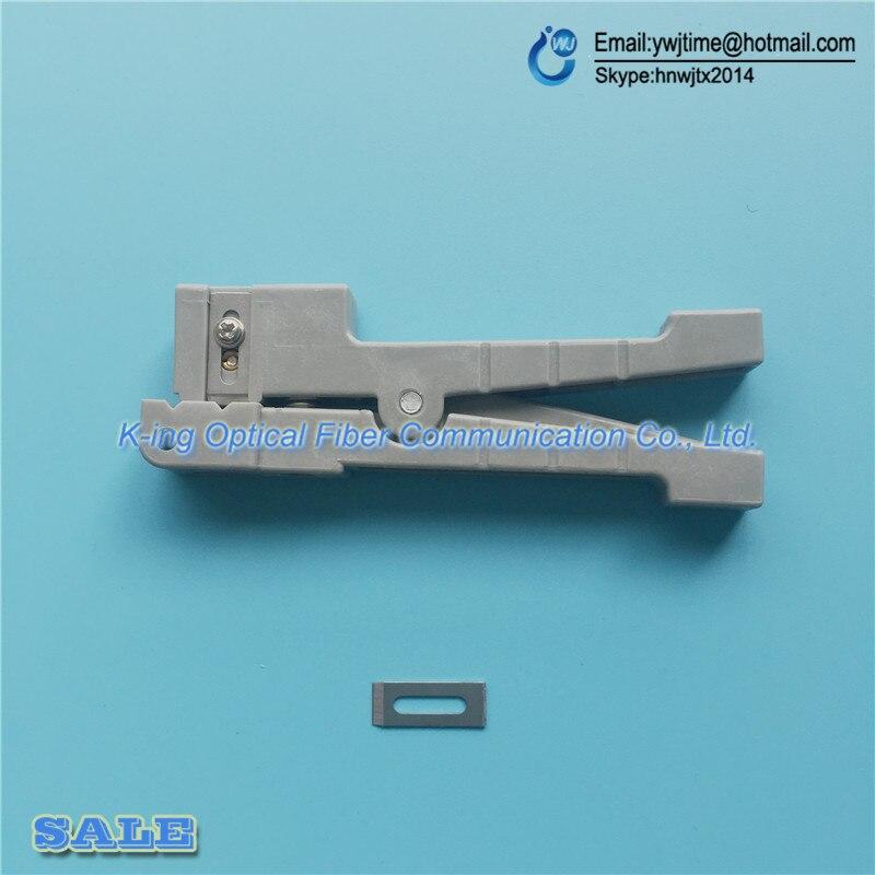 10 шт./лот Волокно-оптический кабель, инструмент для зачистки Волокно для идеально 45-162 зачистки коаксиального кабеля