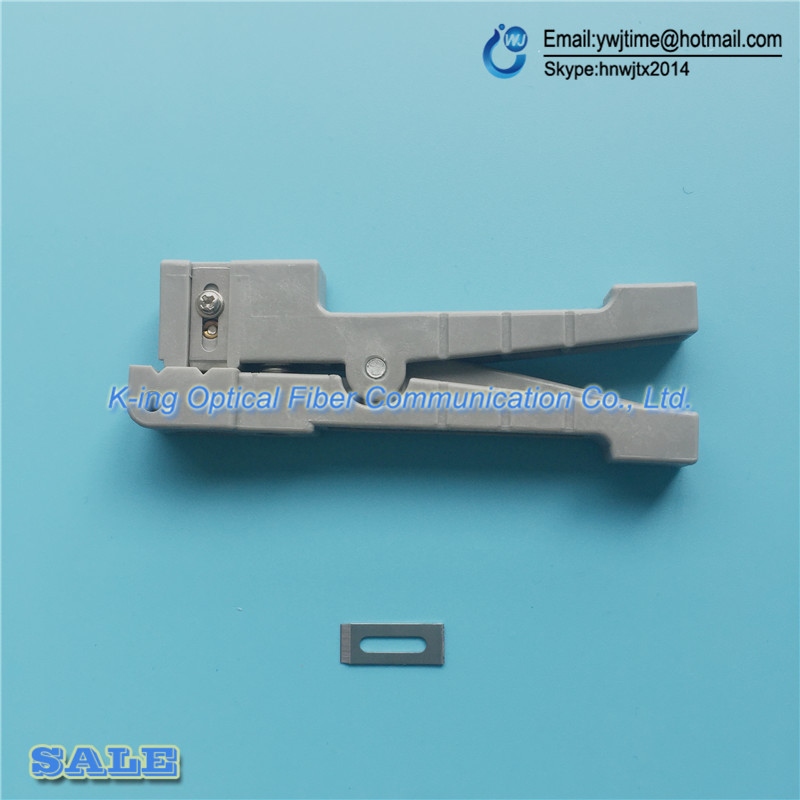 10PCS/lot Fiber Optic Cable Stripping Tool Fiber Optic Stripper Ideal 45-162 Coaxial Cable Stripper