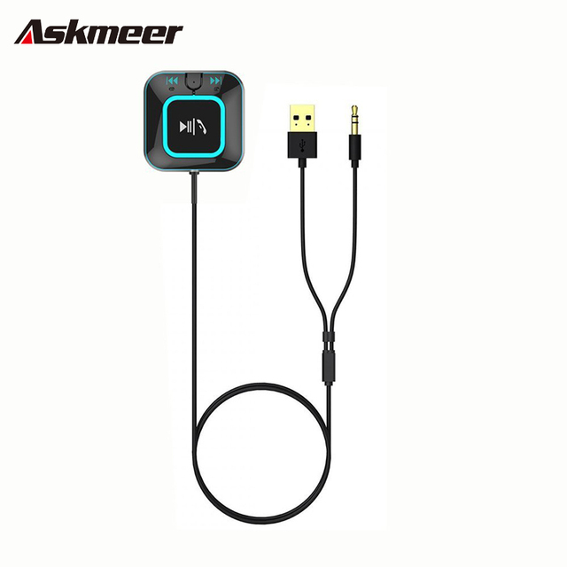 Bluetooth NFC Audio Receiver For Home Audio System Car Portable Wireless Music Receiver Home Sound A2DP Adapter HandsFree w/ Mic