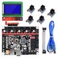 BIGTREETECH SKR V1.3 плата smootieboard 32 бит + 12864 LCD A4988 DRV8825 TMC2208 TMC2130 Ramps 1,6 MKS GEN L 3D части принтера