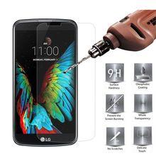 (Not Full Cover) Tempered Glass for LG K10 Screen Protector Protective Film for