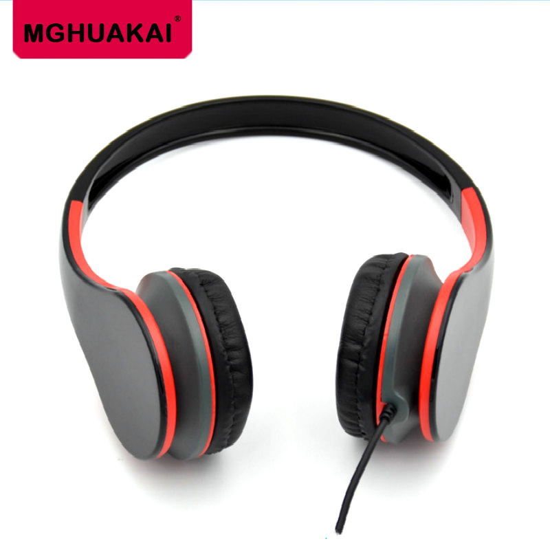 MGHUAKAI Kids Cute Earphone Wired Gaming Headset For Android Phones Computer Headphones