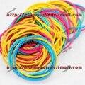 Venta al por mayor Bandas Elásticas Assorted Braiding multicolor Banda de Goma Elástica magia magia del juguete prop 150 unids cada lote