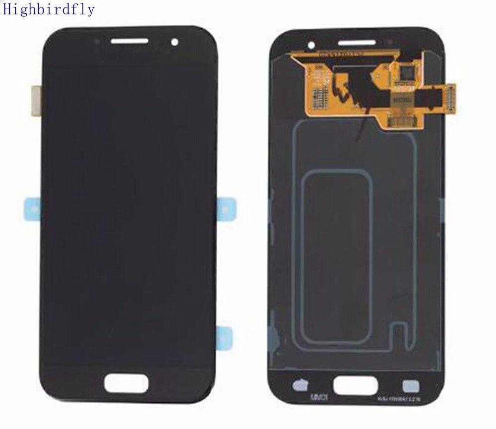 Amoled pour Samsung Galaxy A3 2017 A320 A320F A320M A320Y A320FL écran Lcd + assemblage numériseur en verre tactile Amoled