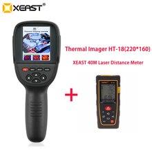 Новое поступление 3,2 дюймов температурный ИК цифровой тепловизор камера 220x160 разрешение HT-18