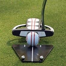 Инструменты установки репетитор аксессуары для гольфа Крытый/Открытый подкладка для гольфа зеркало обучение выравнивание карманное зеркало помощь для гольфа выравнивание