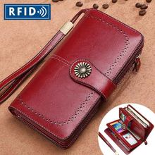 Sendefn Brand Fashion Luxury Women Leather Wallets Female Card Holder Long Lady Clutch Phone Pocket Carteira Feminina Coin Purse(China)
