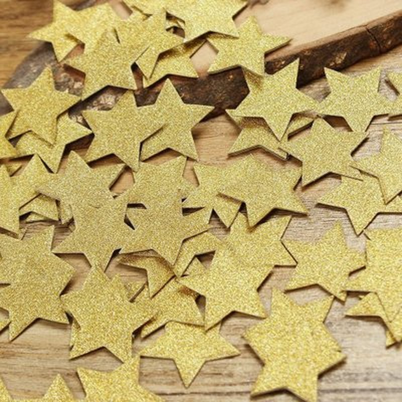 200 шт мерцающие маленькие звезды или конфетти короны сделай сам для свадьбы дня