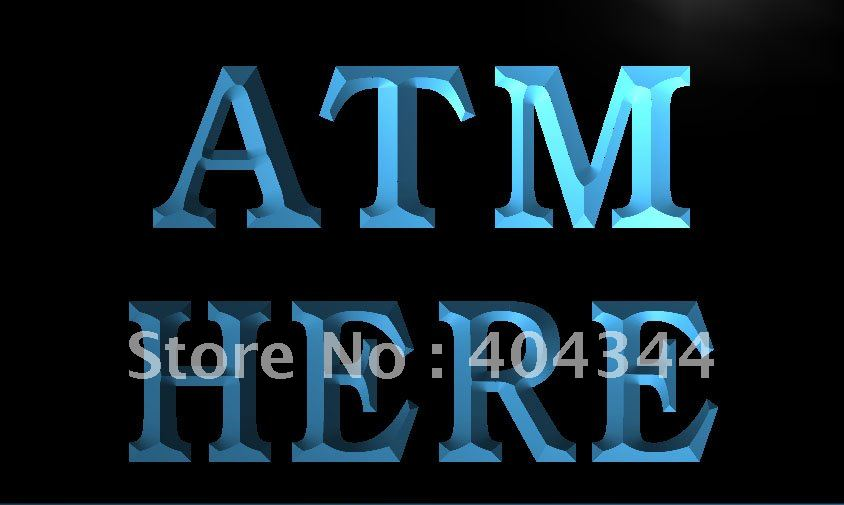 Atm Here Money Machine Lure Led Neon Light Sign Home Decor Crafts Famous For Selected Materials Lk656 Delightful Colors And Exquisite Workmanship Novel Designs