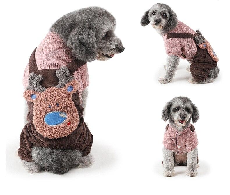 Aliexpress.com: Comprar 2018 lindo Reno perro suéter para el otoño ...