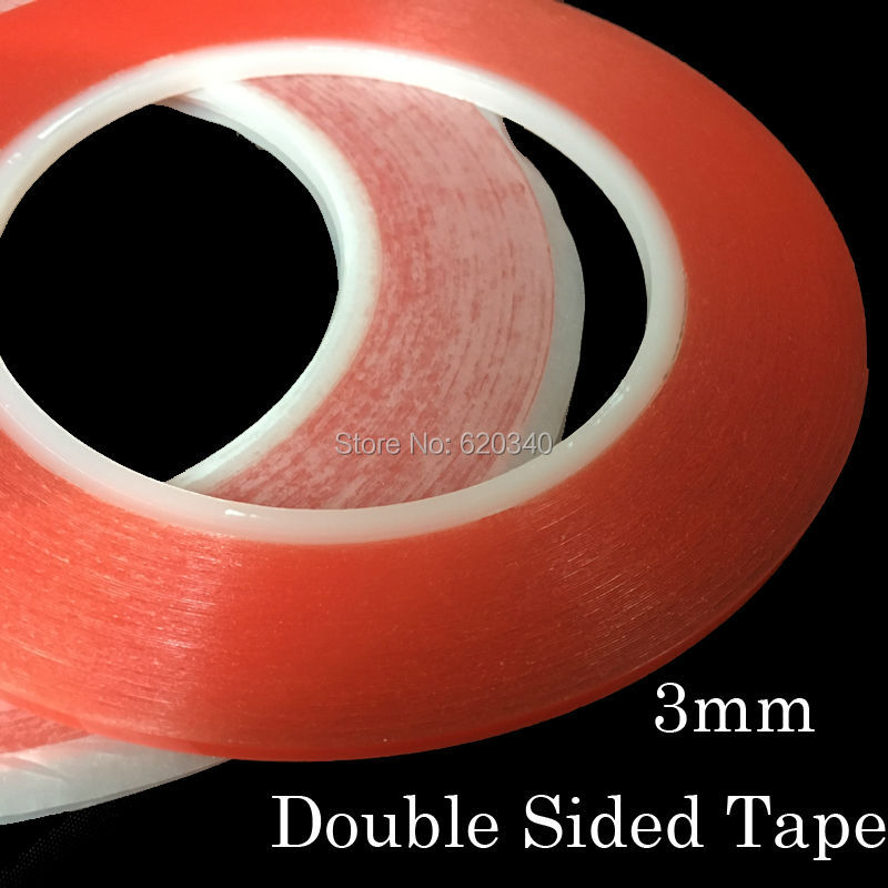 0.2mm Thick For Phone Display 3mm *25m Strong Acrylic Adhesive Clear Double Sided Tape No Trace Lens Assemble Curing Cough And Facilitating Expectoration And Relieving Hoarseness Professional Sale 2/pcs X