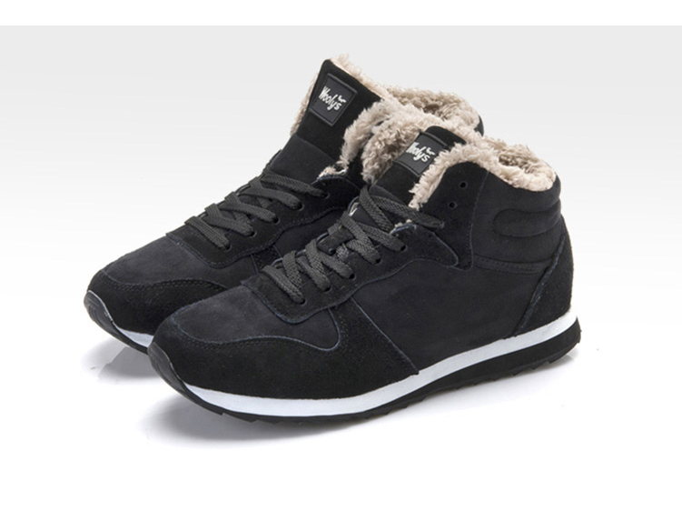 Plush Winter Suede Sneakers Unisex 5