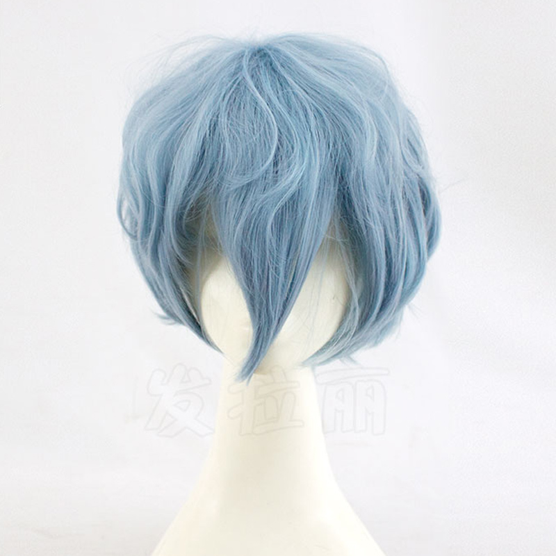 Tomura Shigaraki Cosplay Wig My Hero Academy Costume Play Wigs Halloween Costumes Hair free shipping +Wig Cap