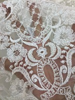 free ship by dhl 5 yards African lace fabric lace bridal French tulle lace SYJ 8314 for wedding dress