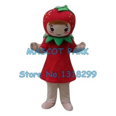 Fraise mascotte costume rouge fraise personnalisé dessin animé personnage cosply adulte taille carnaval costume 3414
