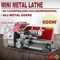 VEVOR 600W полуавтоматический металлический токарный станок  бесступенчатый фрезерный станок